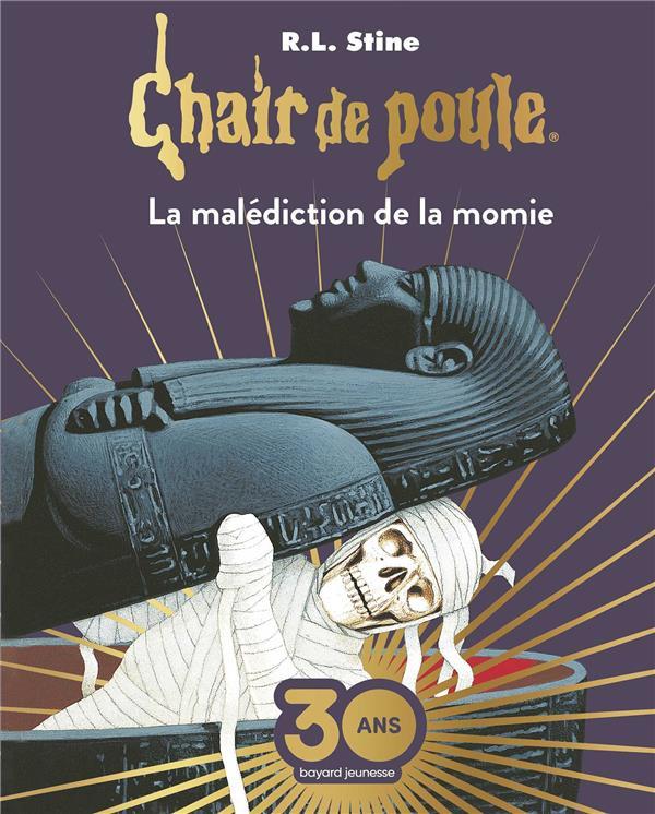 Chair de poule , tome 01 - la malediction de la momie collector