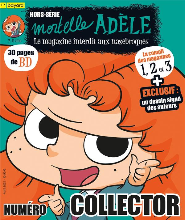 Compilation magazines 1, 2 et 3 mortelle adele
