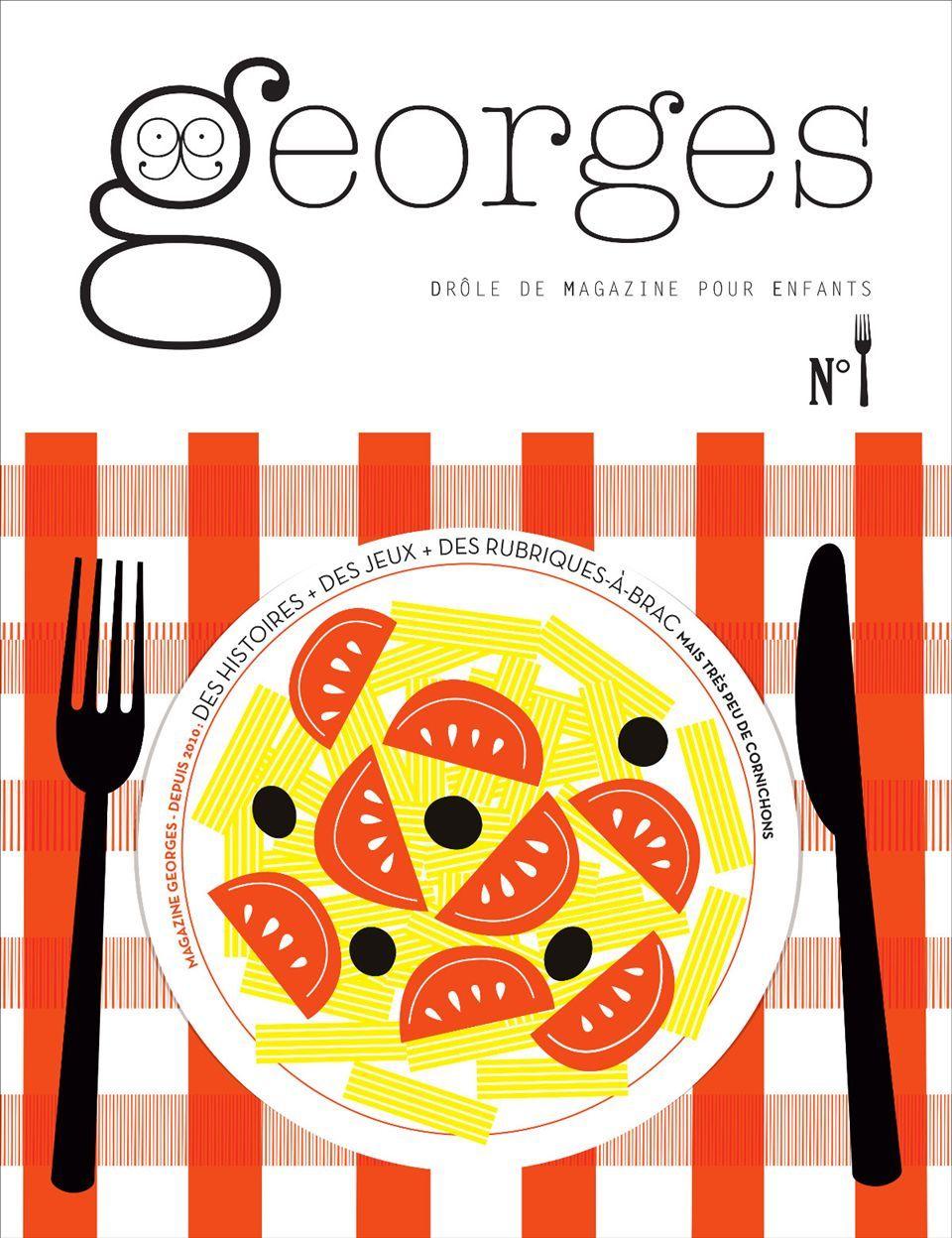 MAGAZINE GEORGES N 24 - FOURCHETTE - N  SEPTEMBRE 2016