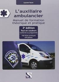 L'AUXILIAIRE AMBULANCIER 3 EME EDITION