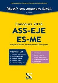 CONCOURS 2016 - ASS - EJE ES-ME