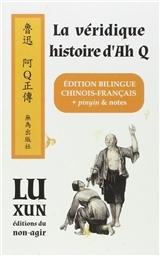 LA VERIDIQUE HISTOIRE D'AH Q - EDITION BILINGUE - CHINOIS/FRANCAIS + PINYIN & NOTES