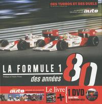 FORMULE 1 DES ANNEES 80 - LIVRE + DVD GRATUIT