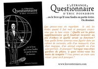 L'ETRANGE QUESTIONNAIRE