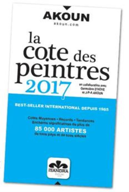 LA COTE DES PEINTRES 2017  AKOUN