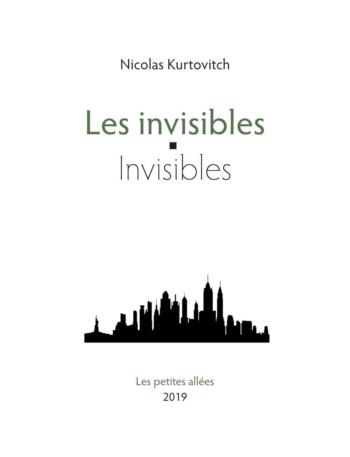 LES INVISIBLES / INVISIBLES