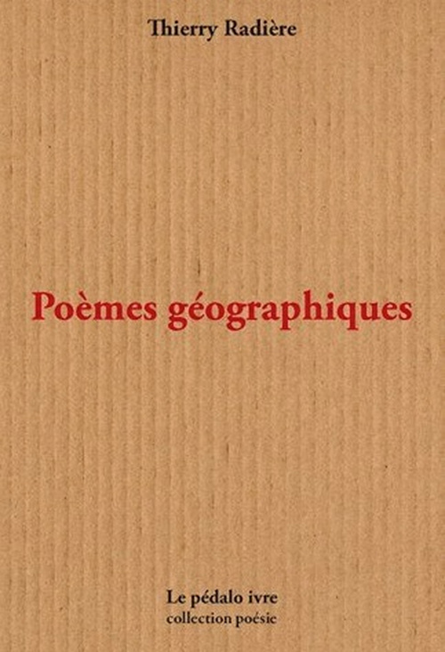 POEMES GEOGRAPHIQUES