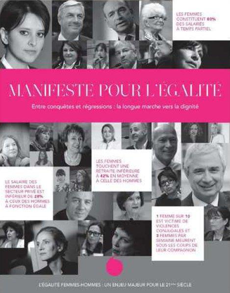 MANIFESTE POUR L'EGALITE HOMMES-FEMMES