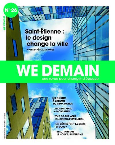 WE DEMAIN - NUMERO 26 SPECIAL ST ETIENNE - VOLUME 26