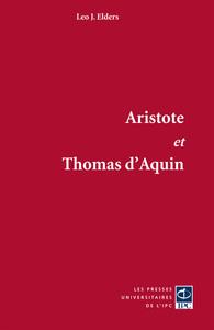 ARISTOTE ET THOMAS D AQUIN