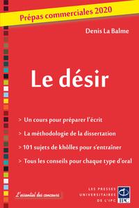 LE DESIR - PREPAS COMMERCIALES 2020