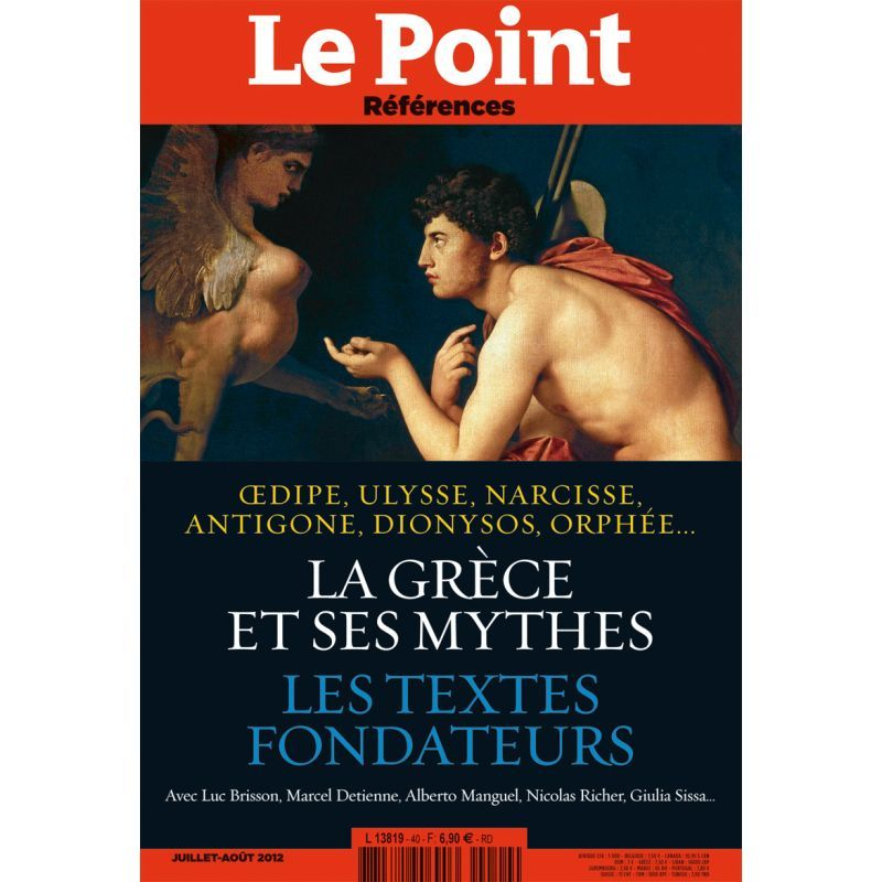 LE POINT REFERENCES N 40 - LA GRECE ET SES MYTHES
