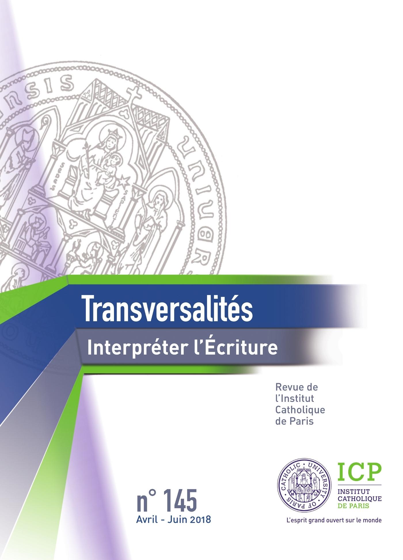 TRANSVERSALITES N  145