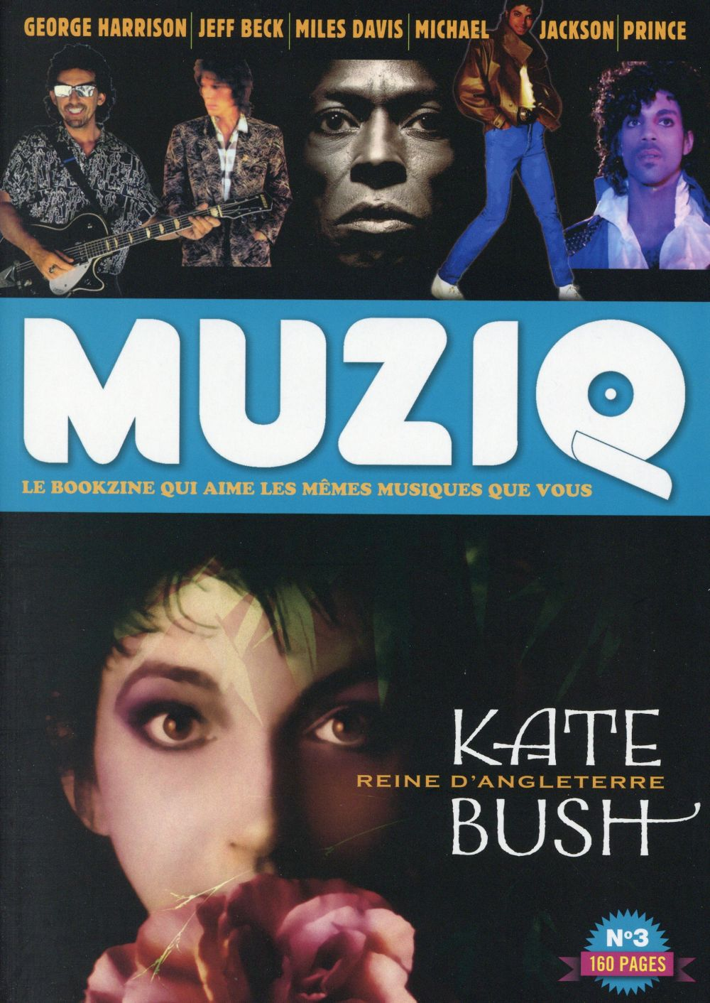 MUZIQ - NUMERO 3 KATE BUSH