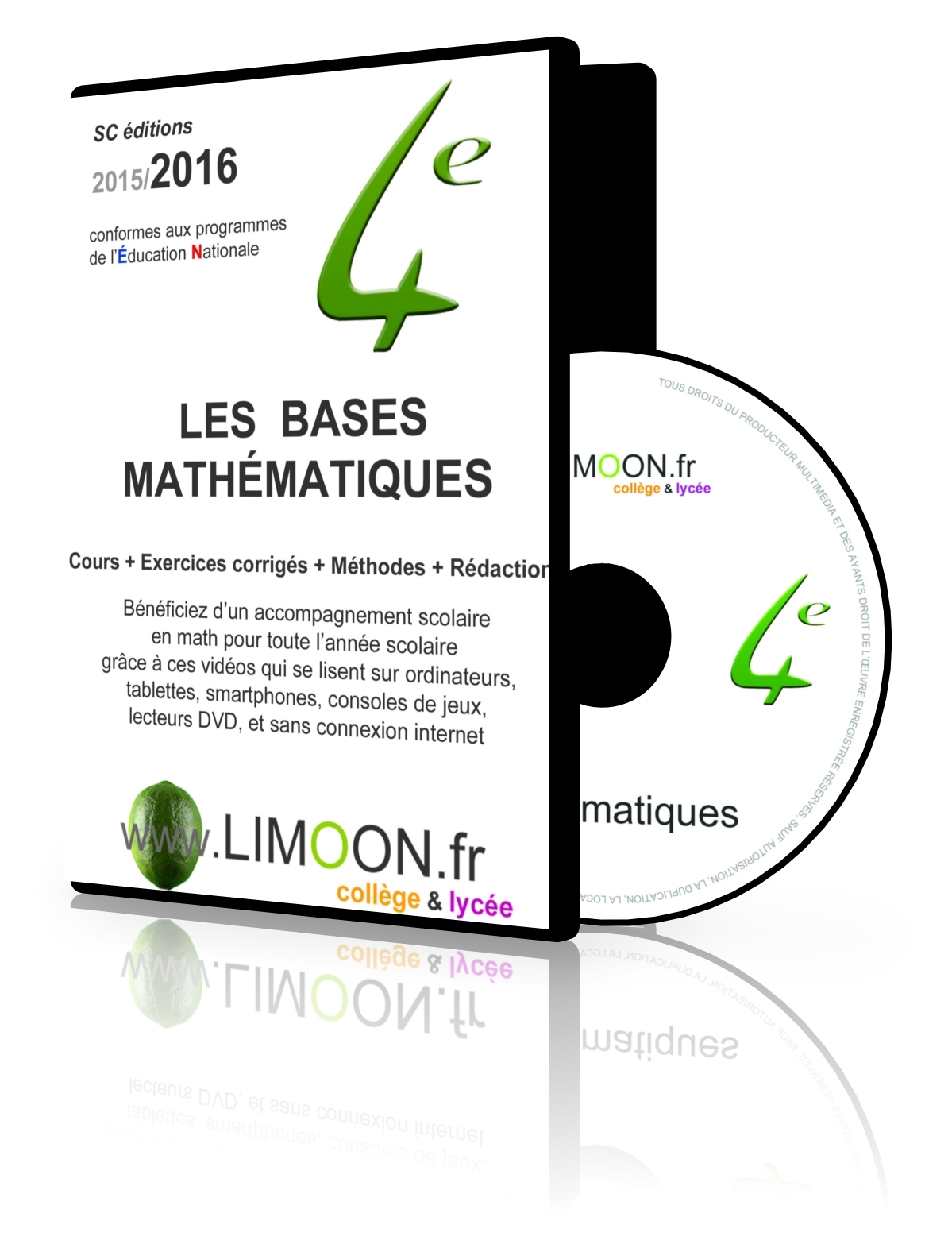 LES BASES MATHEMATIQUES EN QUATRIEME 2016 !ATTENTION ANCIENS PROGRAMMES!