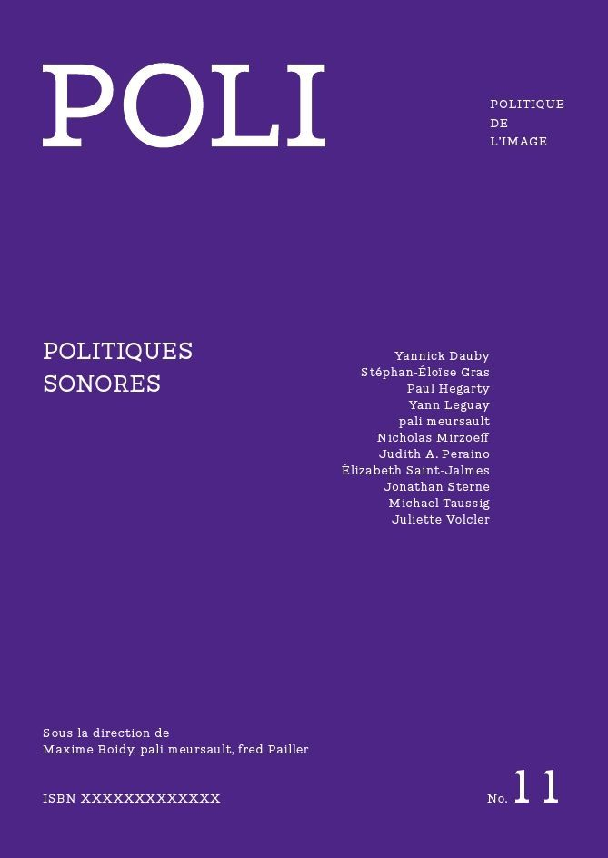 POLI N 11 - POLITIQUES SONORES