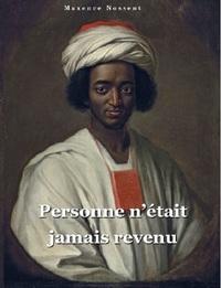 PERSONNE N'ETAIT JAMAIS REVENU, LA VIE D'AYOUBA SULEIMAN DIALLO HAPPE PAR LA TRAITE NEGRIERE