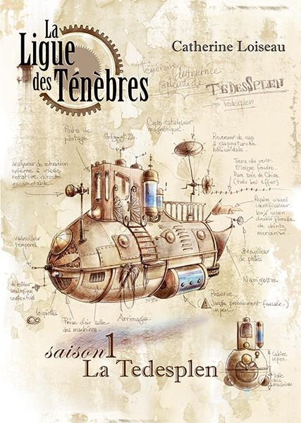 LA LIGUE DES TENEBRES SAISON 1 : LA TEDESPLEN