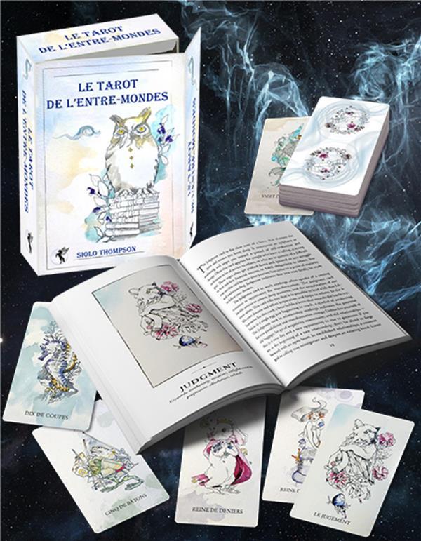 TAROT DE L'ENTRE-MONDES - COFFRET DE 78 CARTES + UN LIVRE EXPLICATIF EN COULEURS