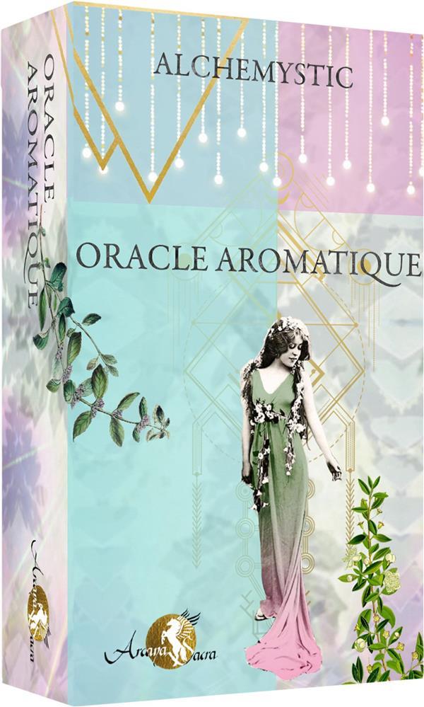ORACLE AROMATIQUE - BOITE CLOCHE COMPRENANT UN JEU DE 36 CARTES AVEC LIVRET COULEURS