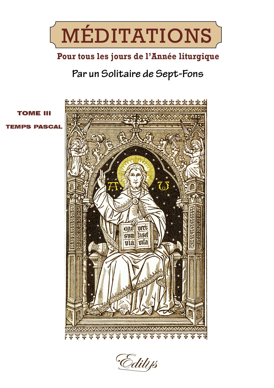 MEDITATIONS : SUR LES MYSTERES DE LA FOI ET SUR LES EPITRES ET EVANGILES : TIREES DE L'ECRITURE SAIN