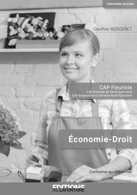 CORRIGE ECONOMIE DROIT CAP FLEURISTE 3EME EDITION (LIVRE DU PROFESSEUR)