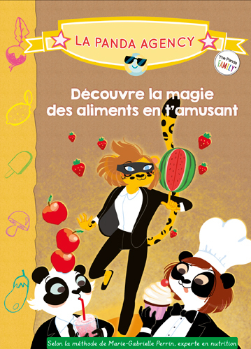 THE PANDA FAMILY (PANDA AGENCY) - DECOUVRE LA MAGI