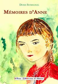 MEMOIRES D'ANNE