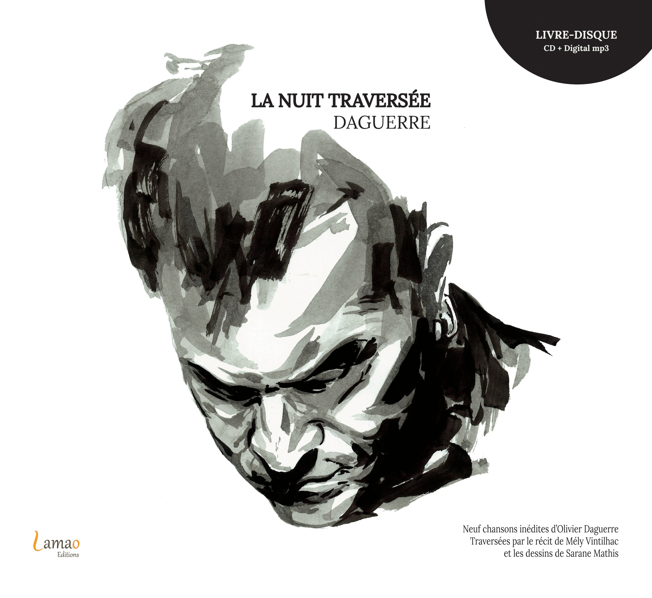 LA NUIT TRAVERSEE - (LIVRE + CD)