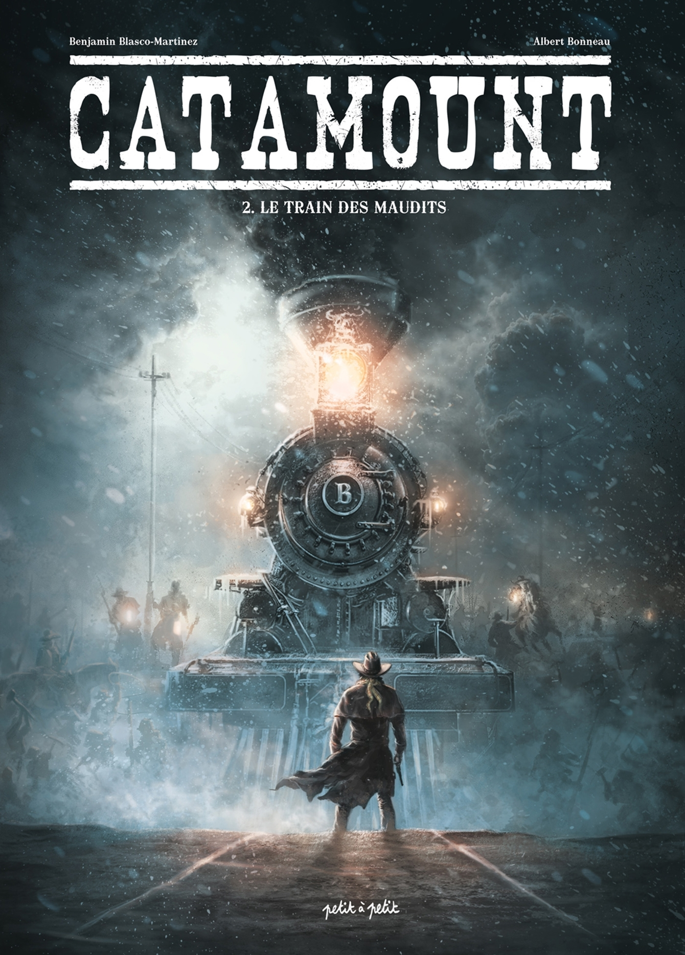 CATAMOUNT - T02 - CATAMOUNT-LE TRAIN DES MAUDITS