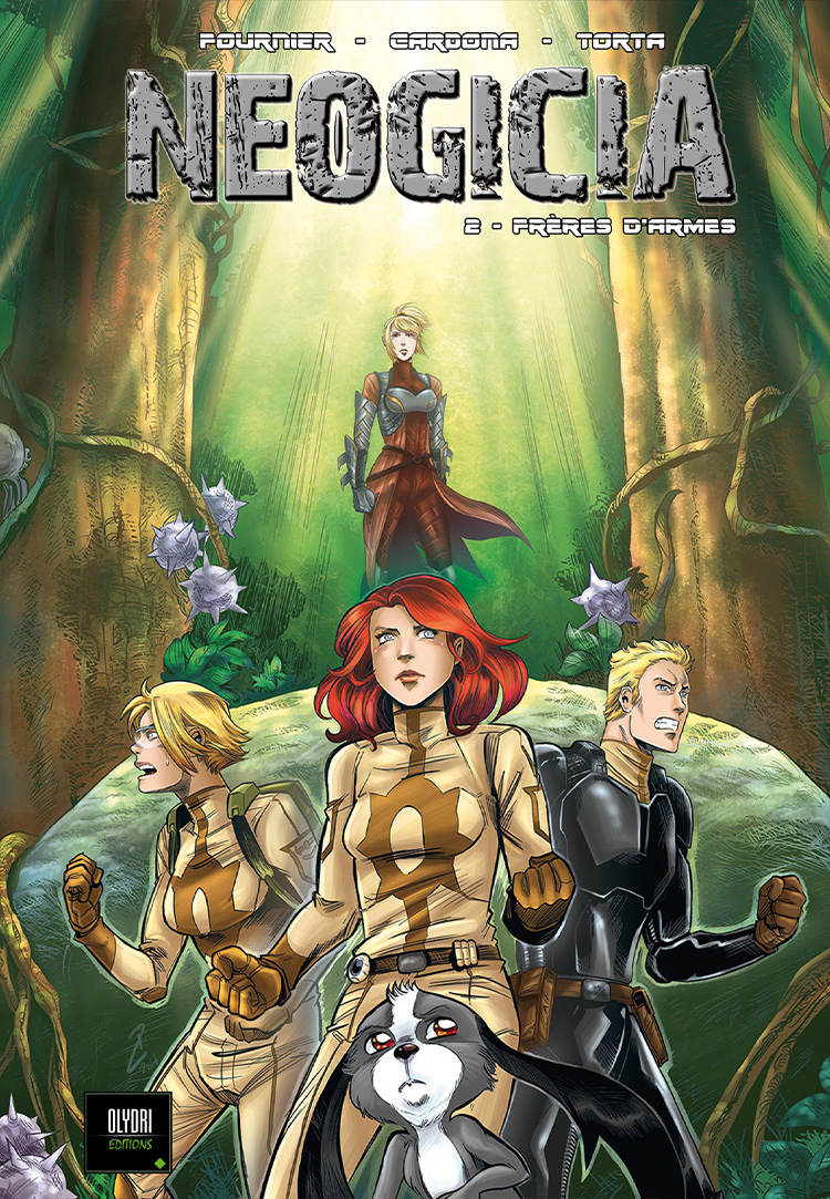 NEOGICIA BD T02 - FRERES D'ARMES