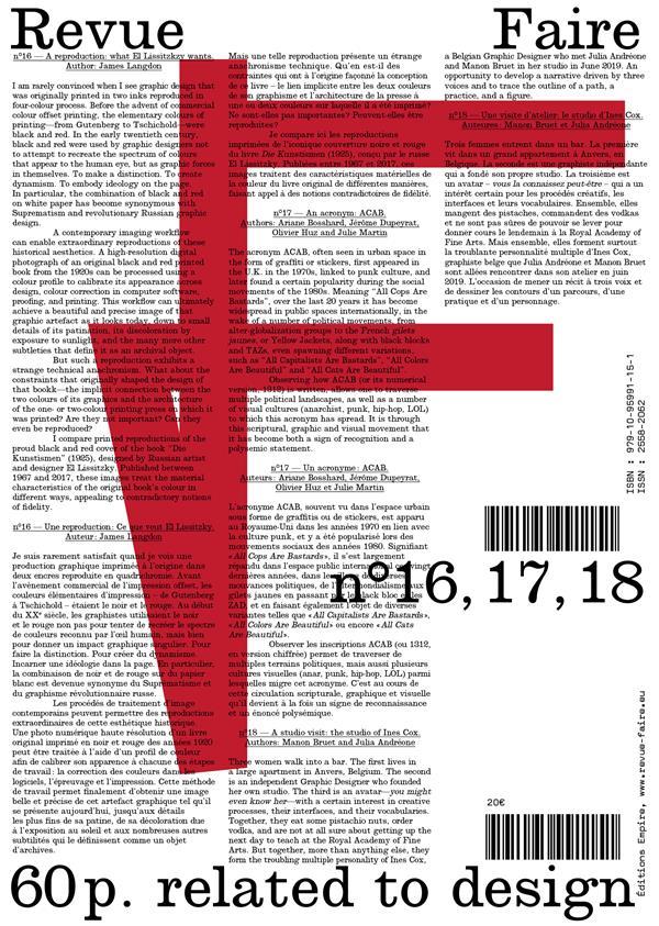 FAIRE - VOLUME 05 (N  16, 17, 18)
