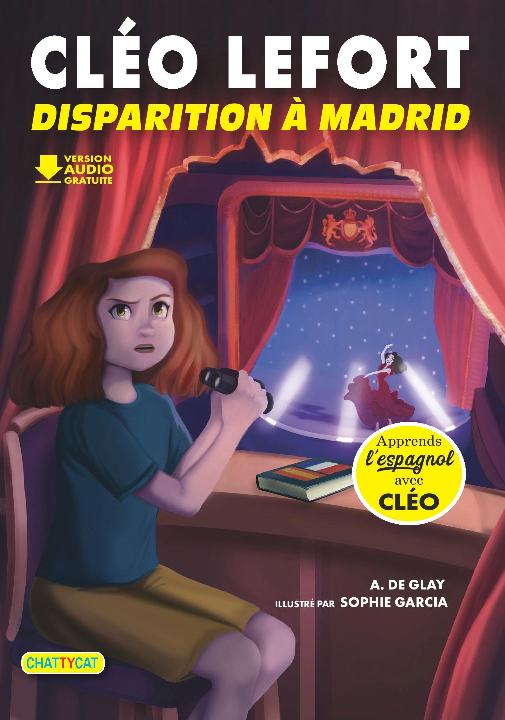 CLEO LEFORT : DISPARITION A MADRID