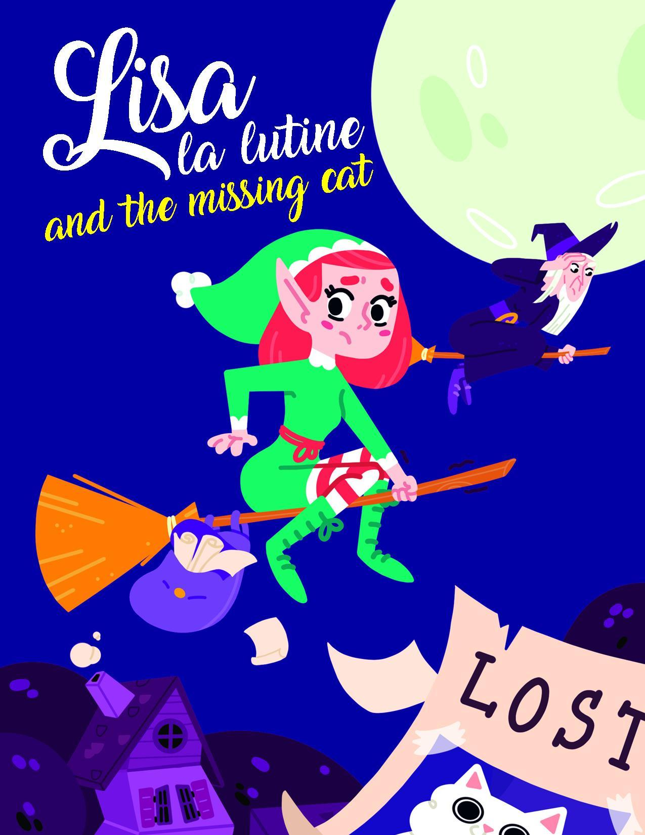 LISA LA LUTINE AND THE MISSING CAT