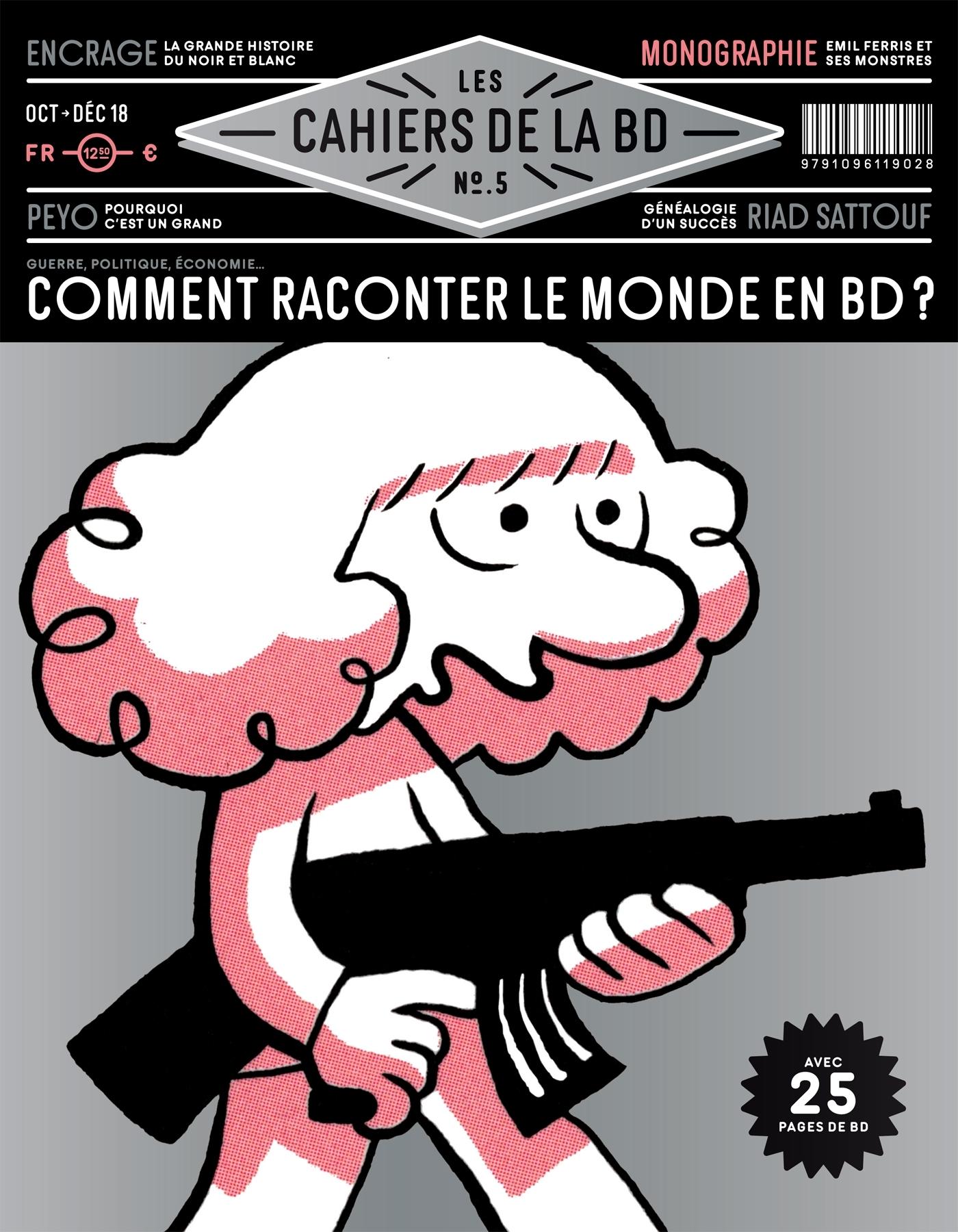 LES CAHIERS DE LA BD - T05 - LES CAHIERS DE LA BD N 5