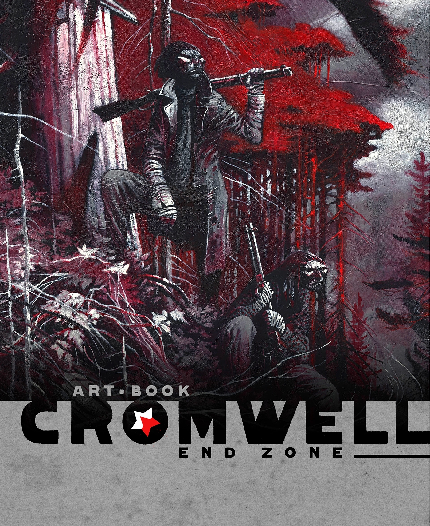 END ZONE - ARTBOOK - THE ART OF CROMWELL