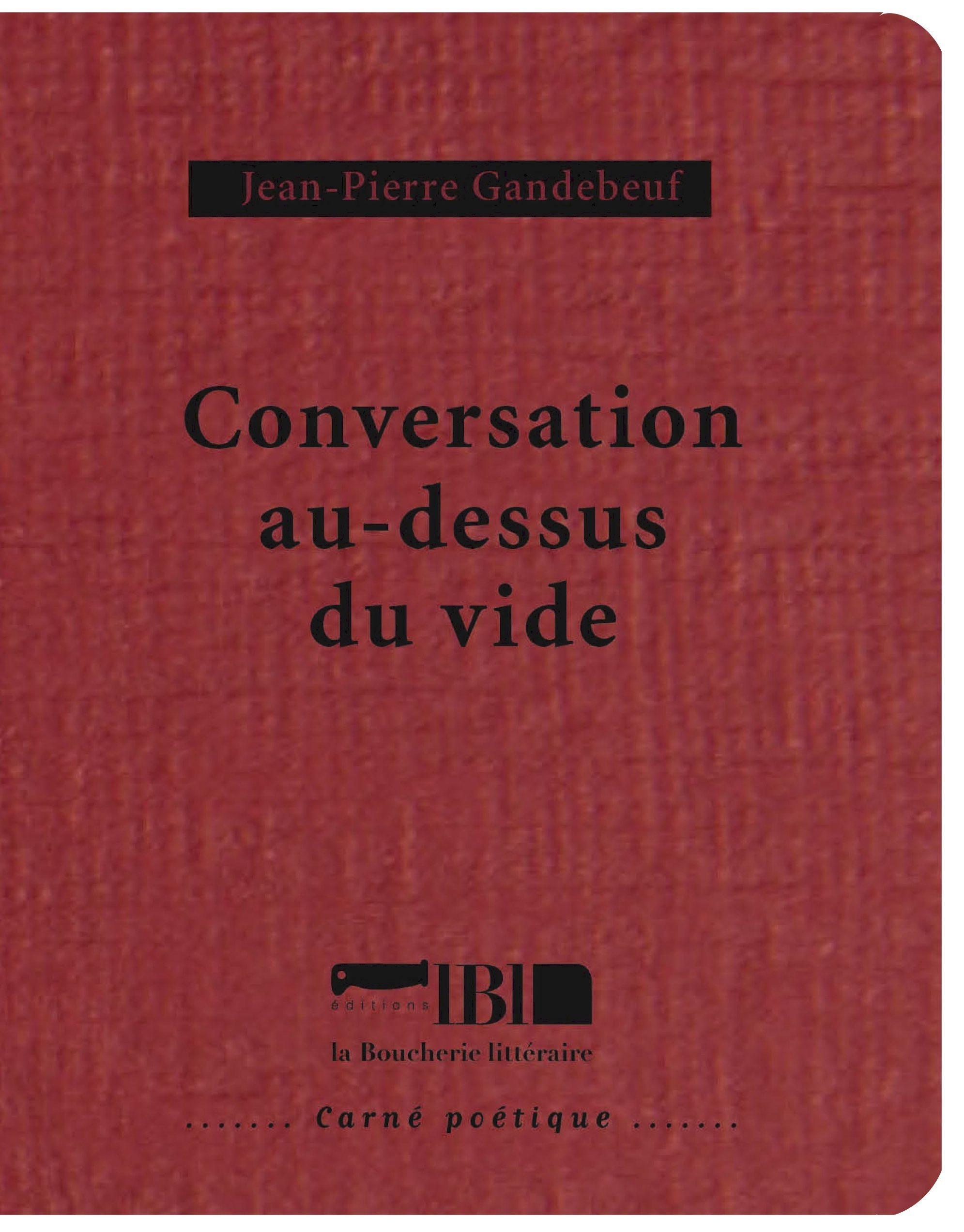 CONVERSATION AU-DESSUS DU VIDE