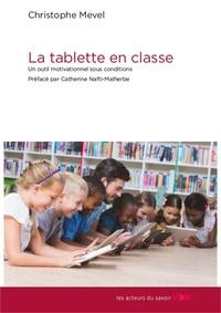 LA TABLETTE EN CLASSE