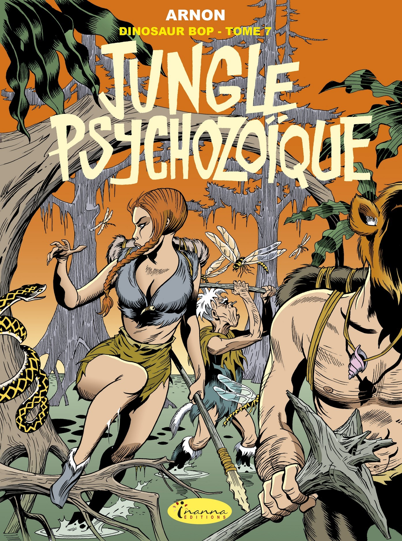 DINOSAUR BOP T7 - JUNGLE PSYCHOZOIQUE