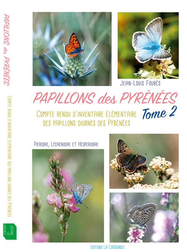PAPILLONS DES PYRENEES TOME2
