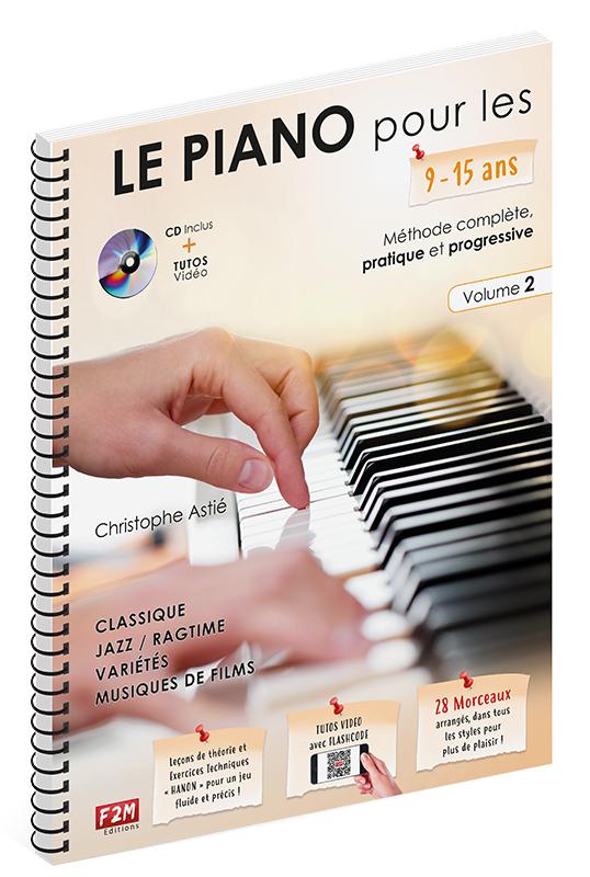 LE PIANO POUR LES 9-15 ANS VOL 2 + CD