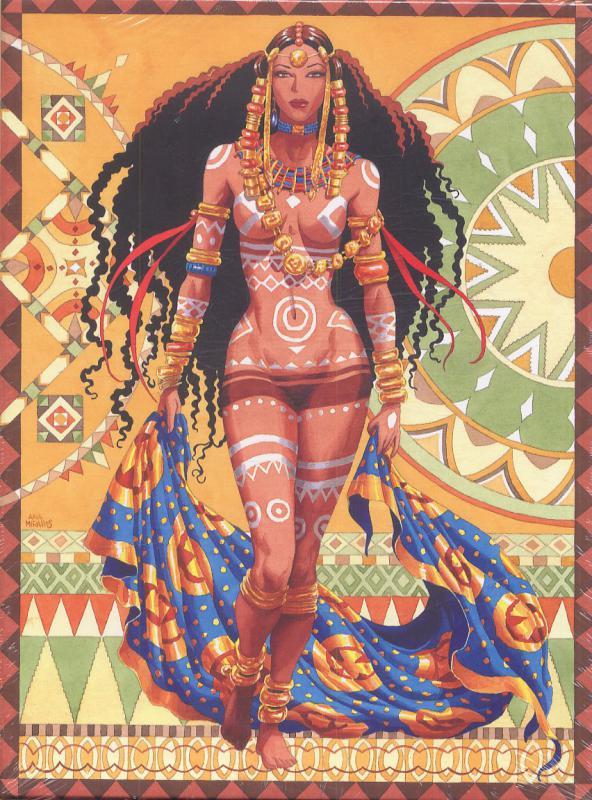 COFFRET 1 ALBUM DJINN NOTES SUR AFRICA (ALBUM ILLUSTRATION ET CALE POUR CYCLE AFRICAIN)