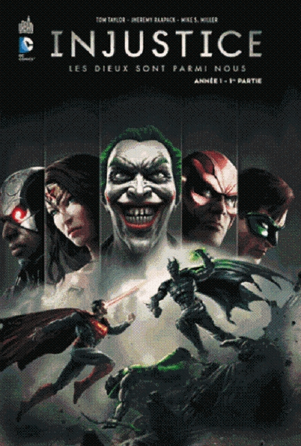 PACK INJUSTICE T1+2 A 20EUROS