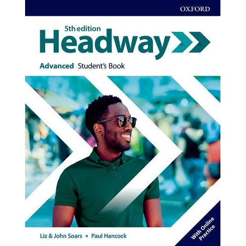 NEW HEADWAY 5TH EDITION, ADVANCED STUDENT'S BOOK WITH ONLINE PRACTICE