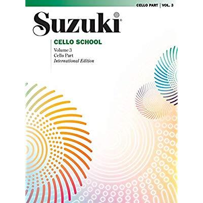 SUZUKI: CELLO SCHOOL VOLUME 3 REVISED EDITION (CELLO PART)
