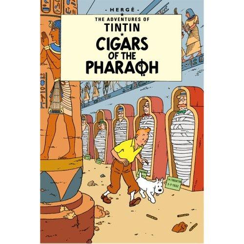 TINTIN CIGARS OF THE PHARAOH