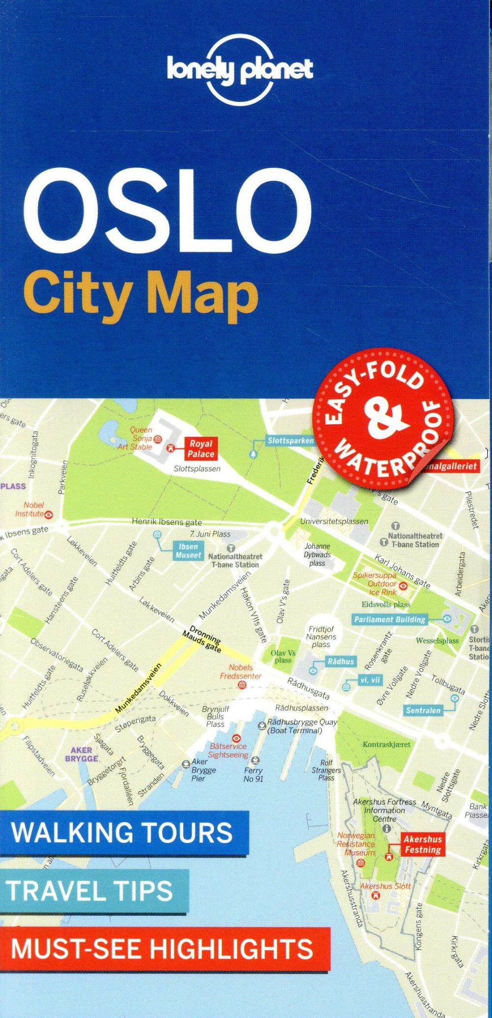 OSLO CITY MAP 1ED -ANGLAIS-