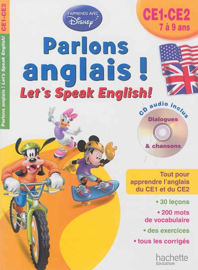 PARLONS ANGLAIS ! CE1-CE2
