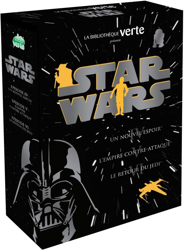 STAR WARS 10-12 ANS - COFFRET STAR WARS - EPISODES 4, 5 ET 6