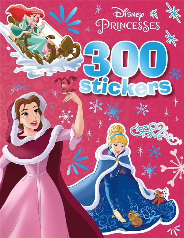 DISNEY PRINCESSES - 300 STICKERS  - SPECIAL HIVER